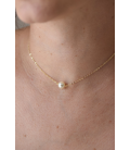 Collier Perle solitaire Lola