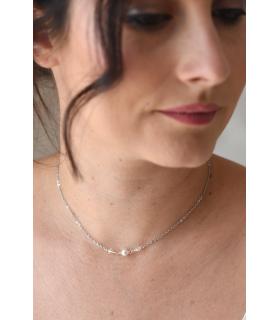 Syrina - collier de mariée minimaliste