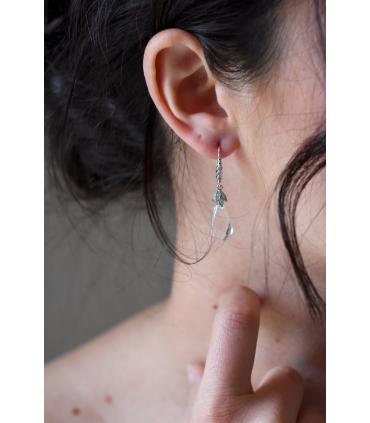 Boucles d'oreilles mariage Aldésia