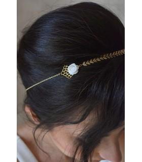 Headband mariage Bohème