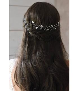 Vigne de cheveux mariage