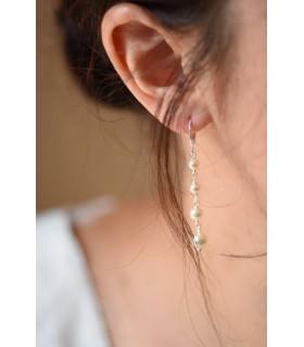 Boucles d'oreilles de mariage Juliette