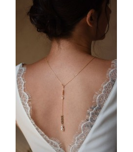 Collier pour robe dos nu Oly Court