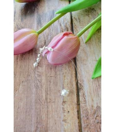 Bracelet de mariée Perle solitaire