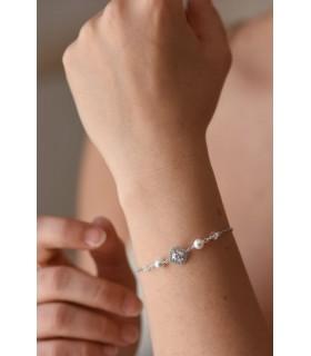 Bracelet de mariée Eva