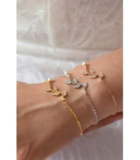 Bracelet de mariage Brindille