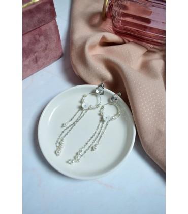 Boucles d'oreilles Printemps très pendantes