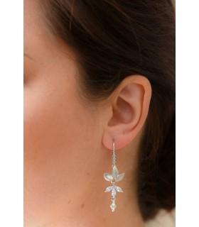 Boucles d'oreilles glamour Salomé pour la mariée