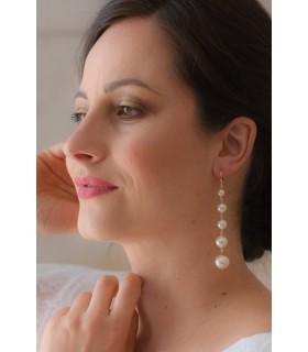 Boucles d'oreilles de mariage Juliette - Maxi