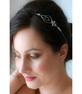 Headband mariage Mélusine