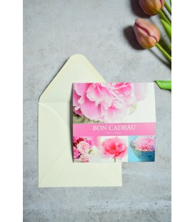 Carte cadeau Lola framboise bijoux mariage