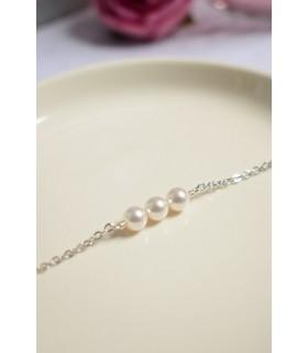 Bracelet trois perles Atlanta
