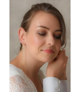 Boucles d'oreilles très pendantes - Amour