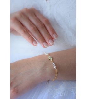 Bracelet de mariée Albane