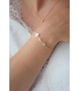 Bracelet de mariage Ephémère