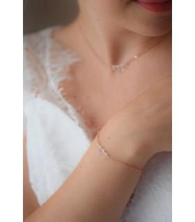 Bracelet de mariage minimaliste et fin - Dita