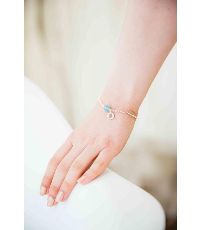 Bracelet Capucine (argent massif)