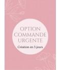 Commande URGENTE