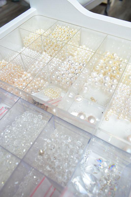 perles création bijoux mariage